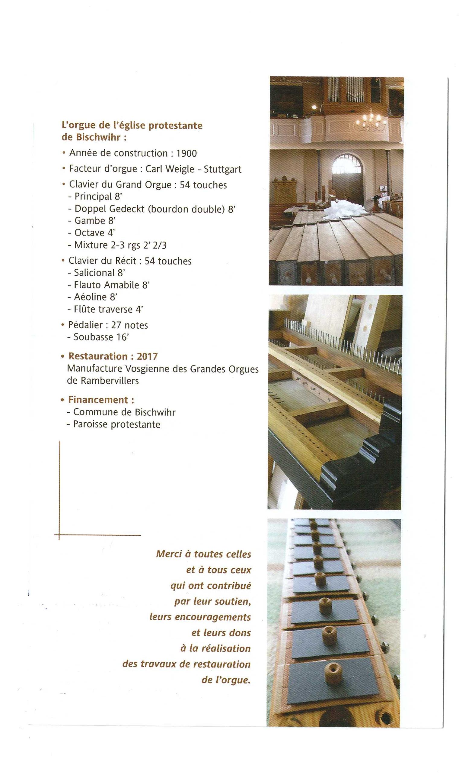 Inauguration orgue de Bischwihr page 11
